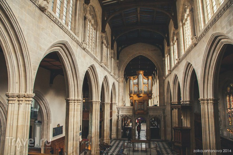 Оксфорд. Грезящие шпили, ритуальные утки и тонкая студенческая натура / Великобритания