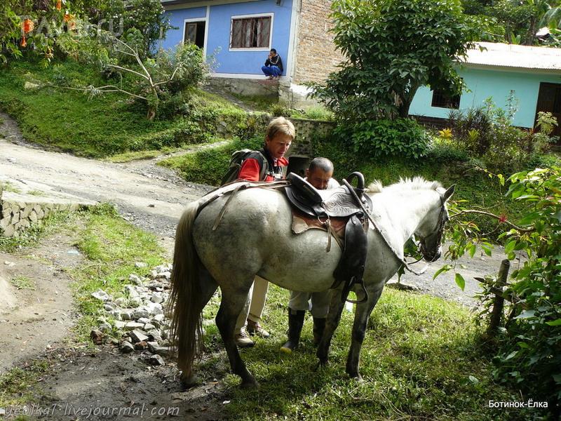 Колумбия - Con mucho gusto! По подземным захоронениям Тьеррадентро. На лошадях! / Колумбия