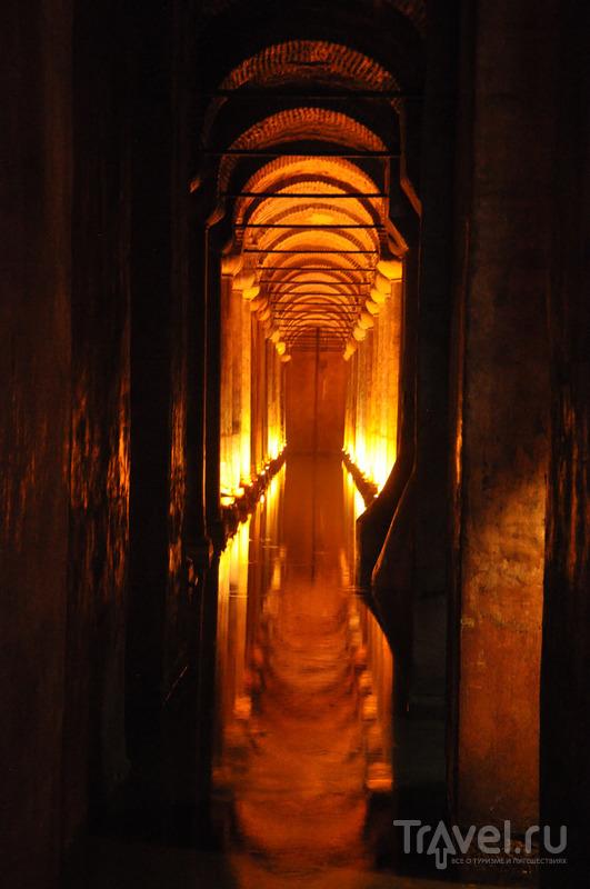 Подземное царство цистерны Базилика / Турция