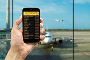 Следить за временем вылета можно по мобильному телефону