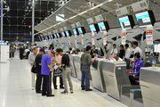 Регистрация в аэропорту Suvarnabhumi в Бангкоке