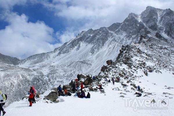 Самая высокая вершина Восточных Саян Мунку-Сардык / Россия