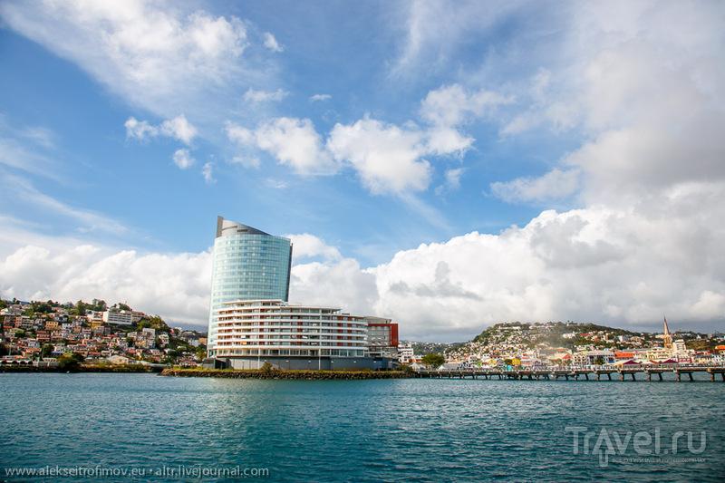 Красочное запустение заморской Франции - остров Мартиника / Фото с Мартиники