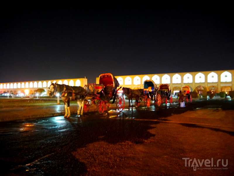 Прогулка по вечернему Исфахану / Иран