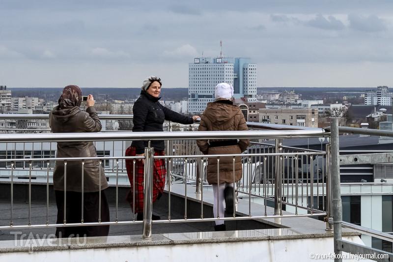 Калининград с колокольни / Россия