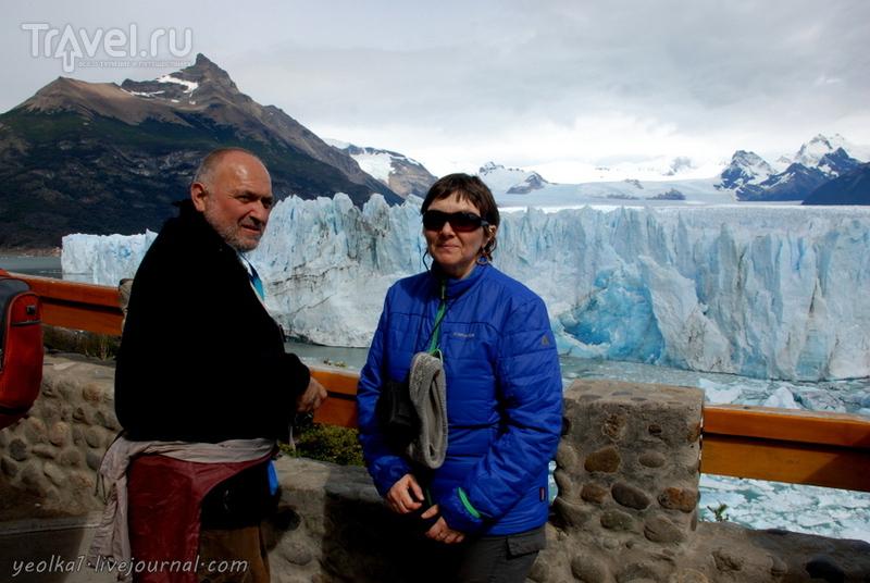 Чили - сбыча мечт! Патагония. Аргентина. Ледник Перито Морено - море голубого льда / Фото из Аргентины
