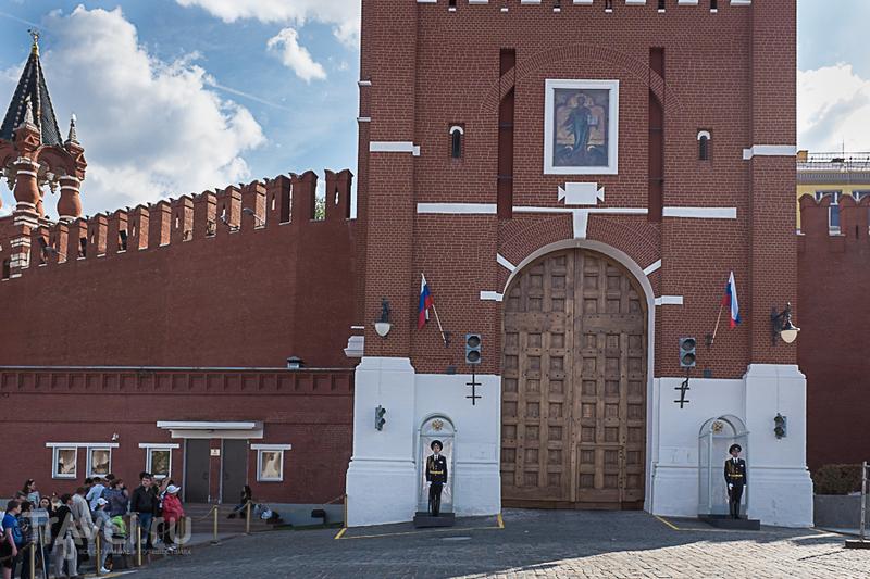 Спасская башня Кремля / Россия