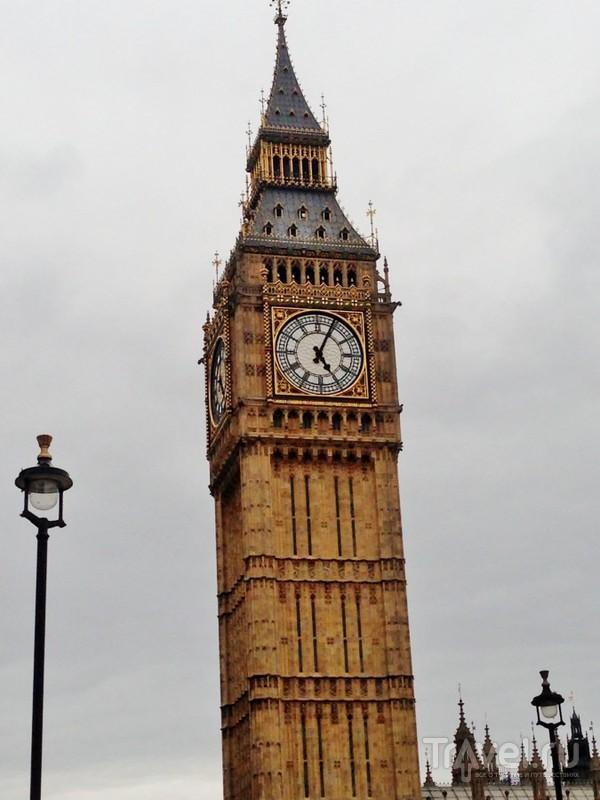 London is the capital of Great Britain / Великобритания