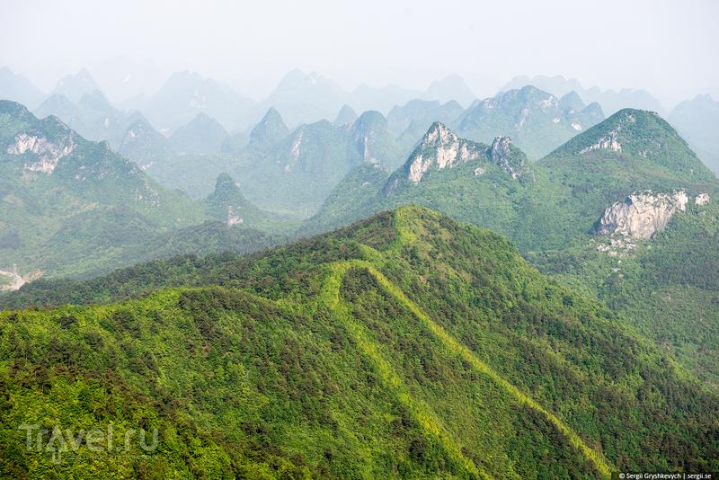 Гора Яошань (Yaoshan) как духовная скрепа китайского менталитета, Гуилинь / Фото из Китая