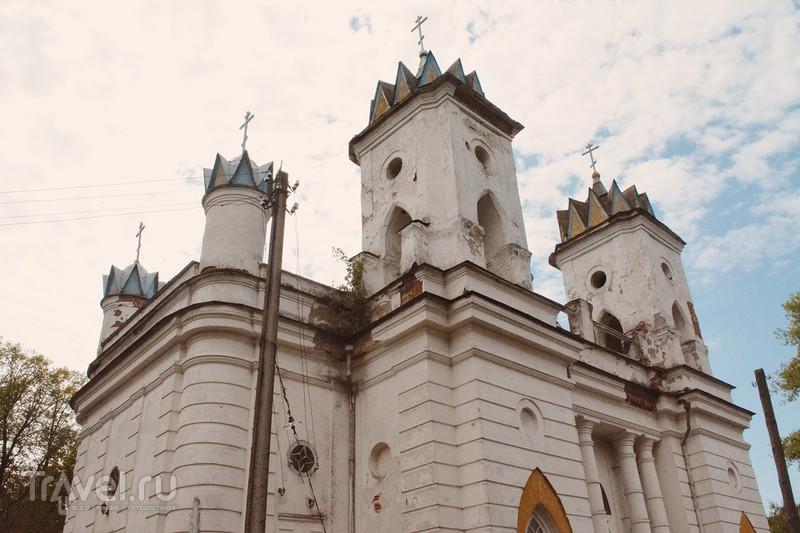 Село Великая Топаль: Церковь Спаса Преображения / Россия