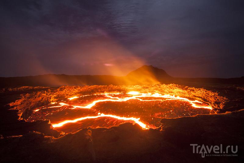 Восхождение на вулкан Эрта Але. Эфиопия / Фото из Эфиопии