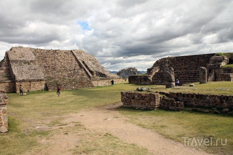 Мексика: Оахака. Монте-Альбан / Мексика
