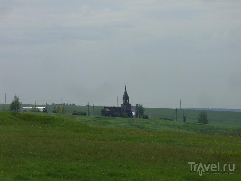 Пятницкая церковь в Русском Ходяшево, Татарстан / Россия