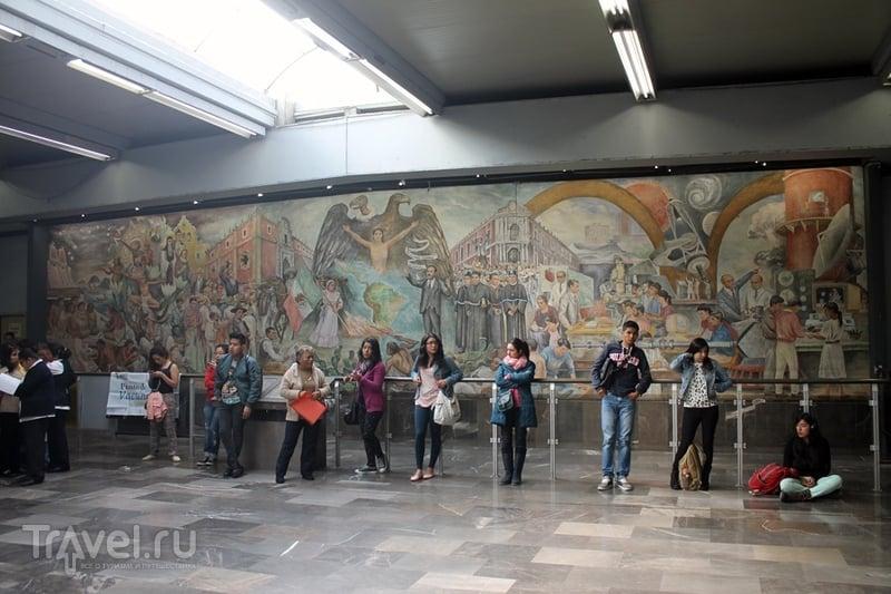 Мехико. Университет / Мексика