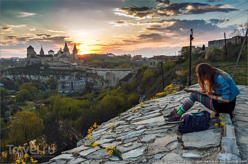 Открытки из Каменца-Подольского / Украина