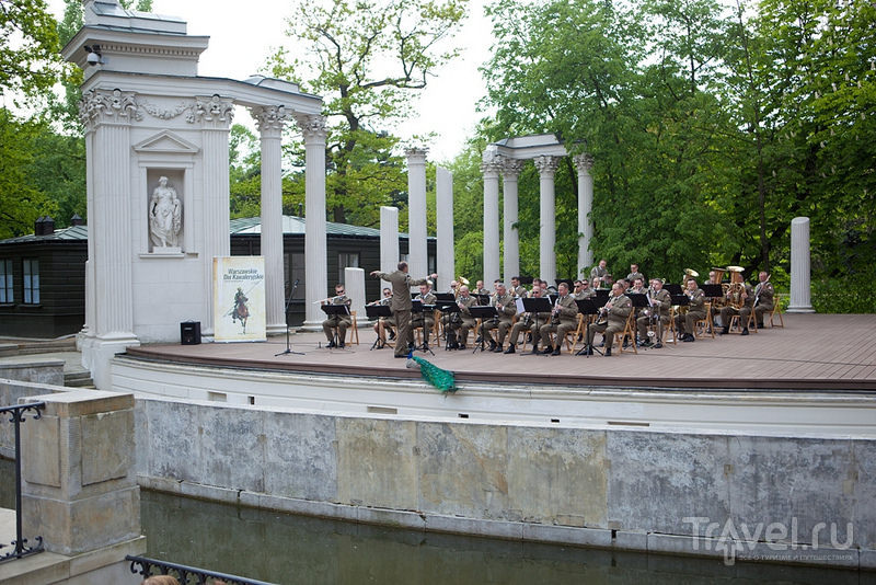 Варшава. Парк Лазенки / Фото из Польши