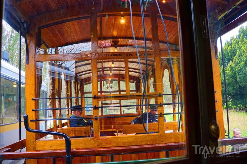 Музей городского транспорта в Брюсселе / Бельгия