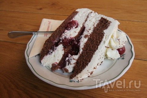 Торт с вишенками. Прямо из Шварцвальда / Германия