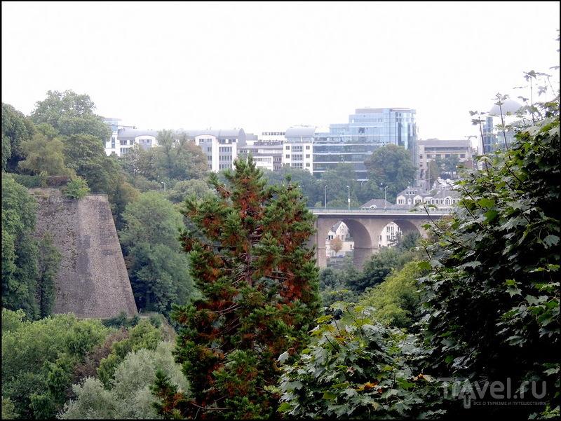 Люксембург. Мост Адольфа и другие слоны / Люксембург