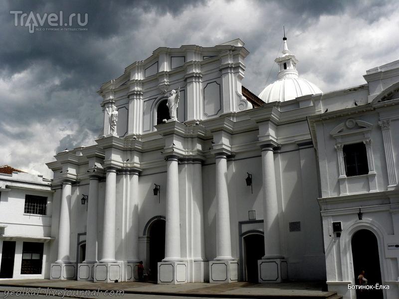 Колумбия - Con mucho gusto! Попаян - белый город / Фото из Колумбии