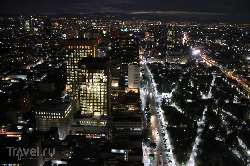Мехико. Вид сверху / Мексика