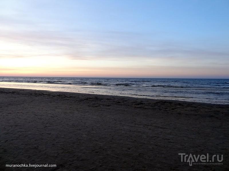 Старые и новые символы Риги и закаты на Рижском взморье / Латвия