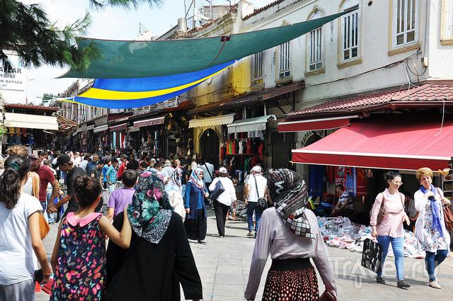 Суета Большого базара / Турция