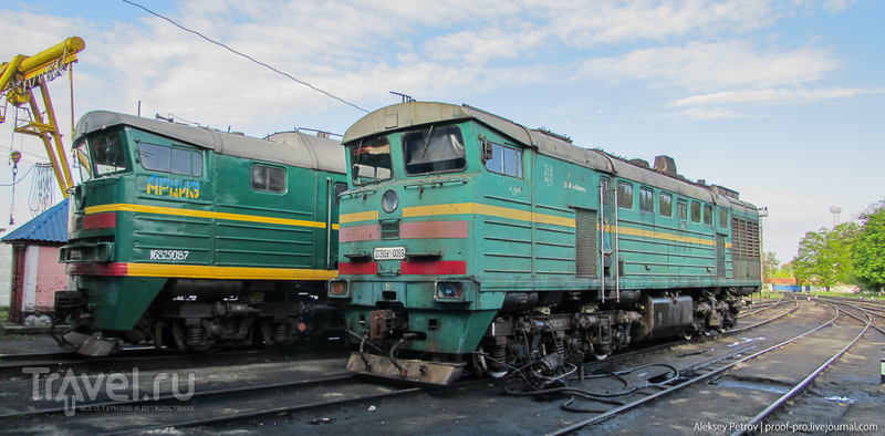 Железнодорожный день Победы. Паровозные покатушки / Фото с Украины