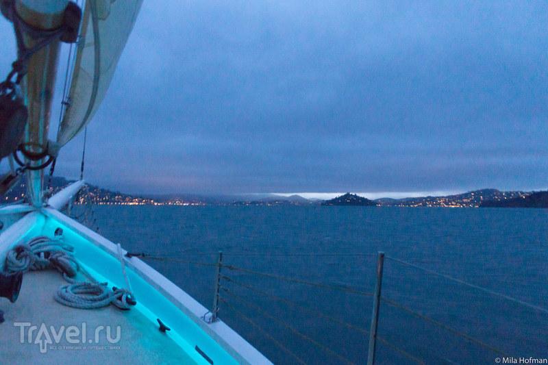San Francisco: залив с борта шхуны / Фото из США