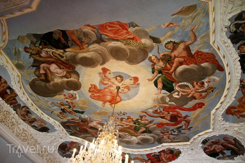 Замок Троя в Праге