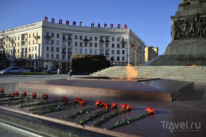 Минск. Площадь Победы / Белоруссия