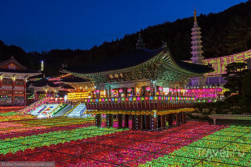 Храм Самгванса и День рождения Будды / Фото из Южной Кореи