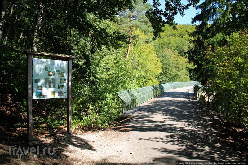 Узкоколейка Härtsfeldbahn / Фото из Германии