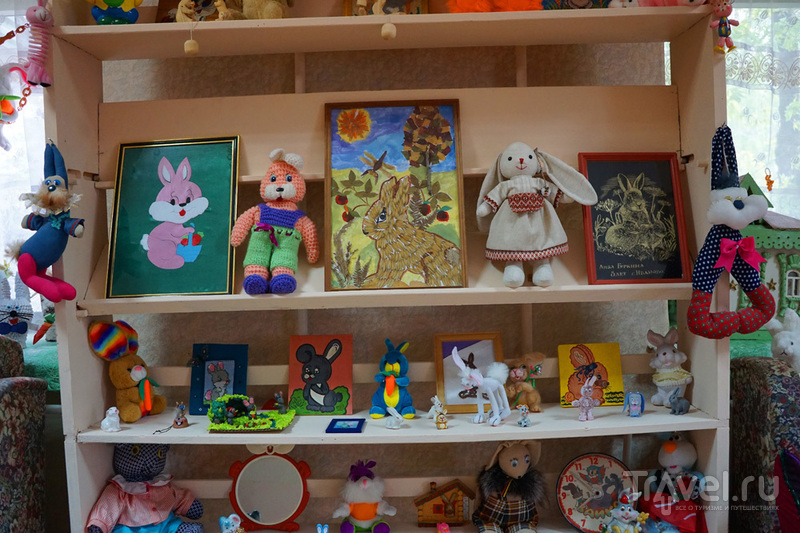 Музей зайцев в городе Ковров Владимирской области / Россия