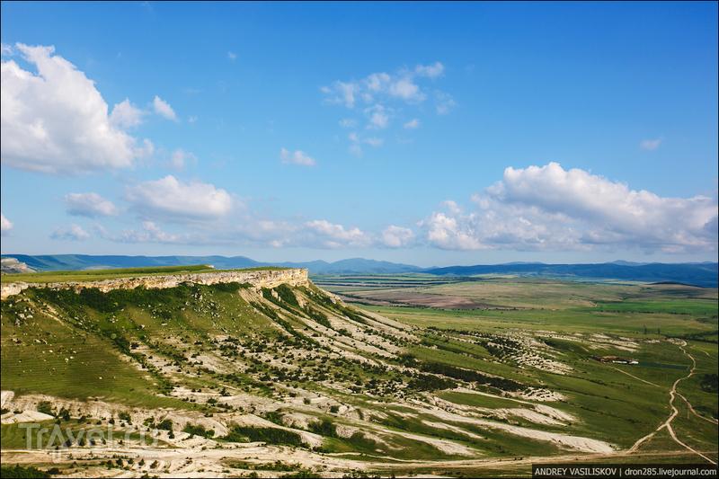 Белая Скала - исполин Крымской степи / Фото из России