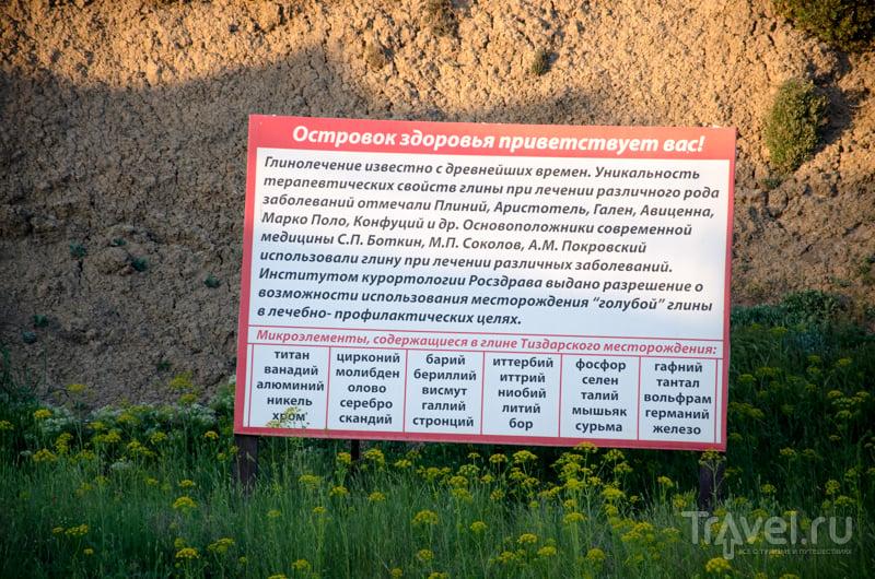 Состав целебной вулканической глины Тиздара