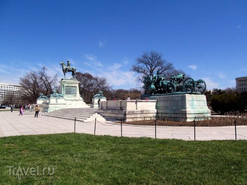 Вашингтон. Капитолийский холм и окрестности / США