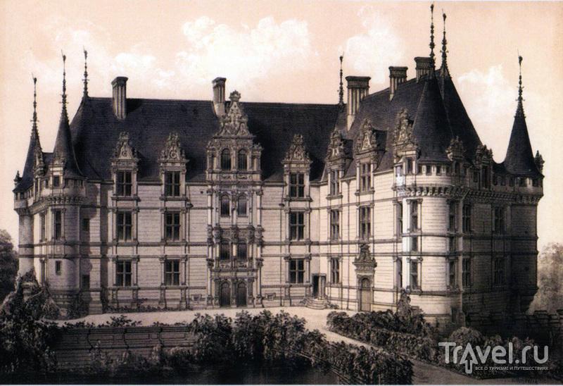 Замок Азе-лё-Ридо (Château d'Azay-le-Rideau)