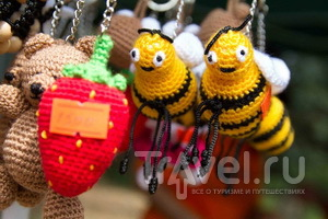 Сувениры фестиваля меда и ягод
