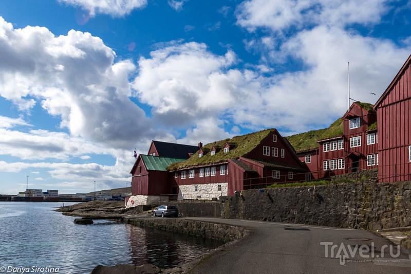 Фарерские острова, Торсхавн. Как живет самый облачный город в мире / Фото с Фарерских островов