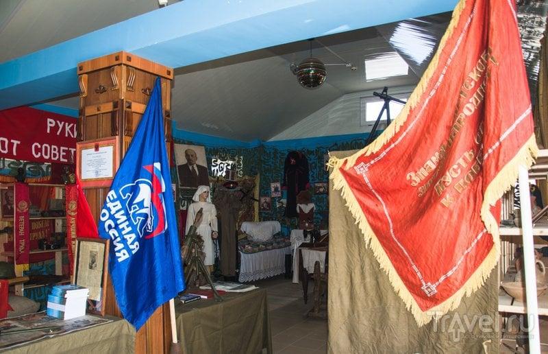 Новые флаги соседствуют со старыми