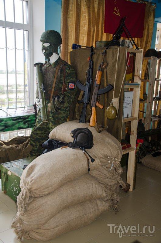 В музее уже появился манекен в форме бойца Новороссии