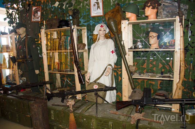 Здесь представлены все лики войны, в том числе и предметы из военного госпиталя