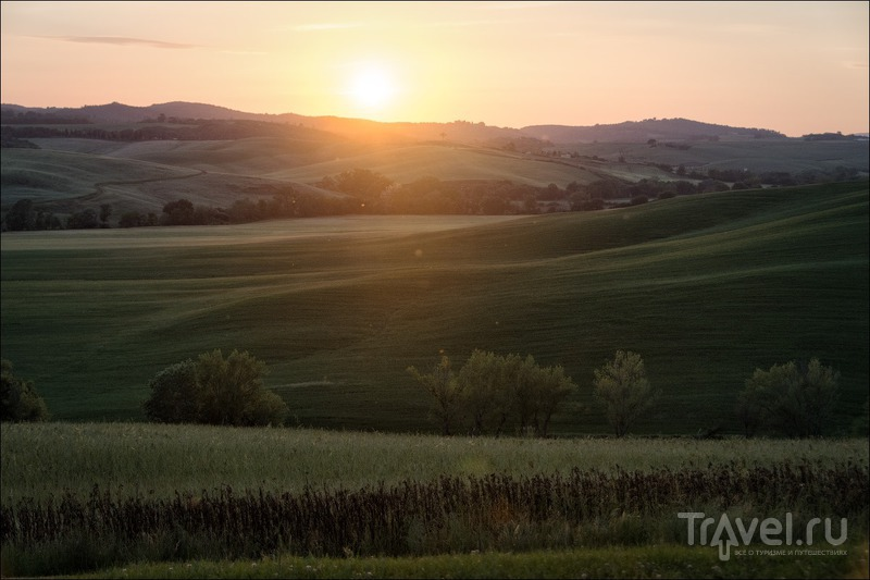 Тоскана: общие впечатления, цветение, наш агротуризм / Фото из Италии