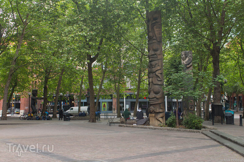 Seattle: Pioneer Square и около / США