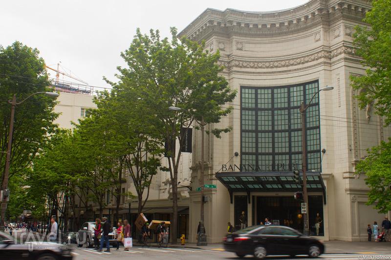 Seattle: Pioneer Square и около / США