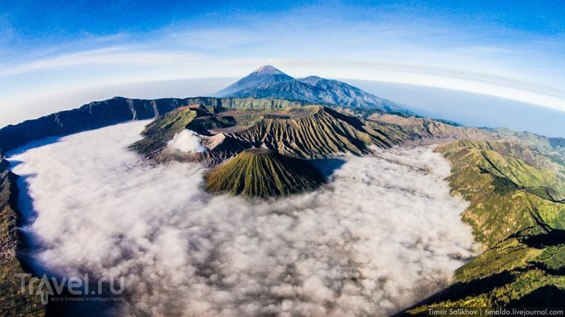 Вулкан Бромо, Индонезия / Фото из Индонезии