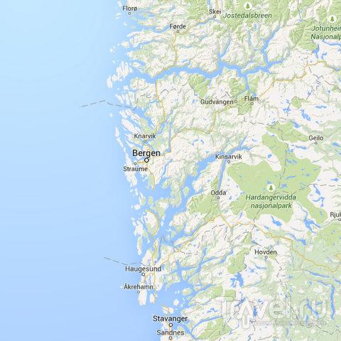 """Норвегия, Берген: однодневный """"тур"""" по фьордам / Фото из Норвегии"""
