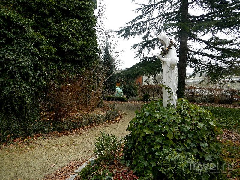 Скульптура в Шенгенском парке