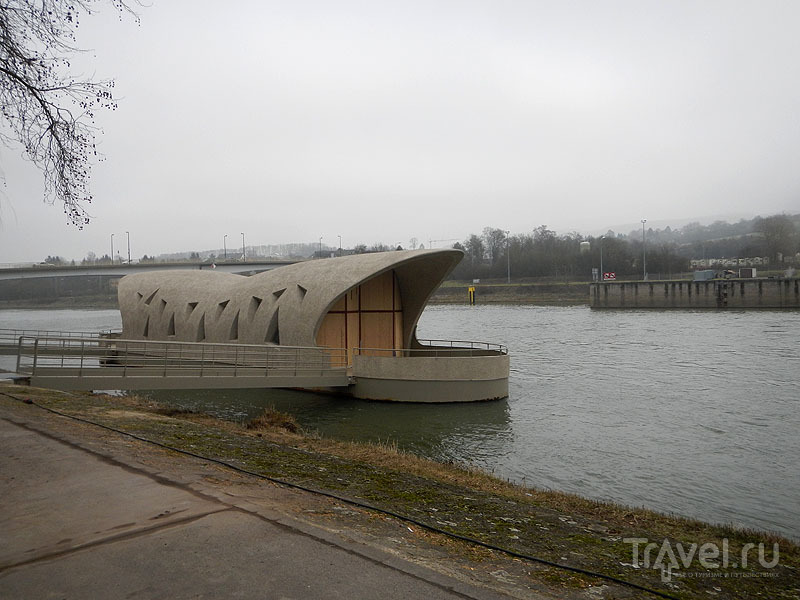 Пристань Шенгена на реке Мозель